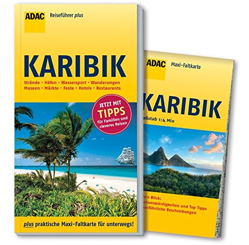 ADAC Reiseführer plus Karibik: mit Maxi-Faltkarte zum Herausnehmen
