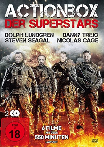 Actionbox der Superstars [2 DVDs]