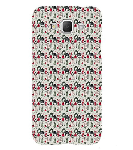 Fiobs Designer Back Case Cover for Samsung Galaxy Grand Max G720 (Multicolor Girls Pattern)