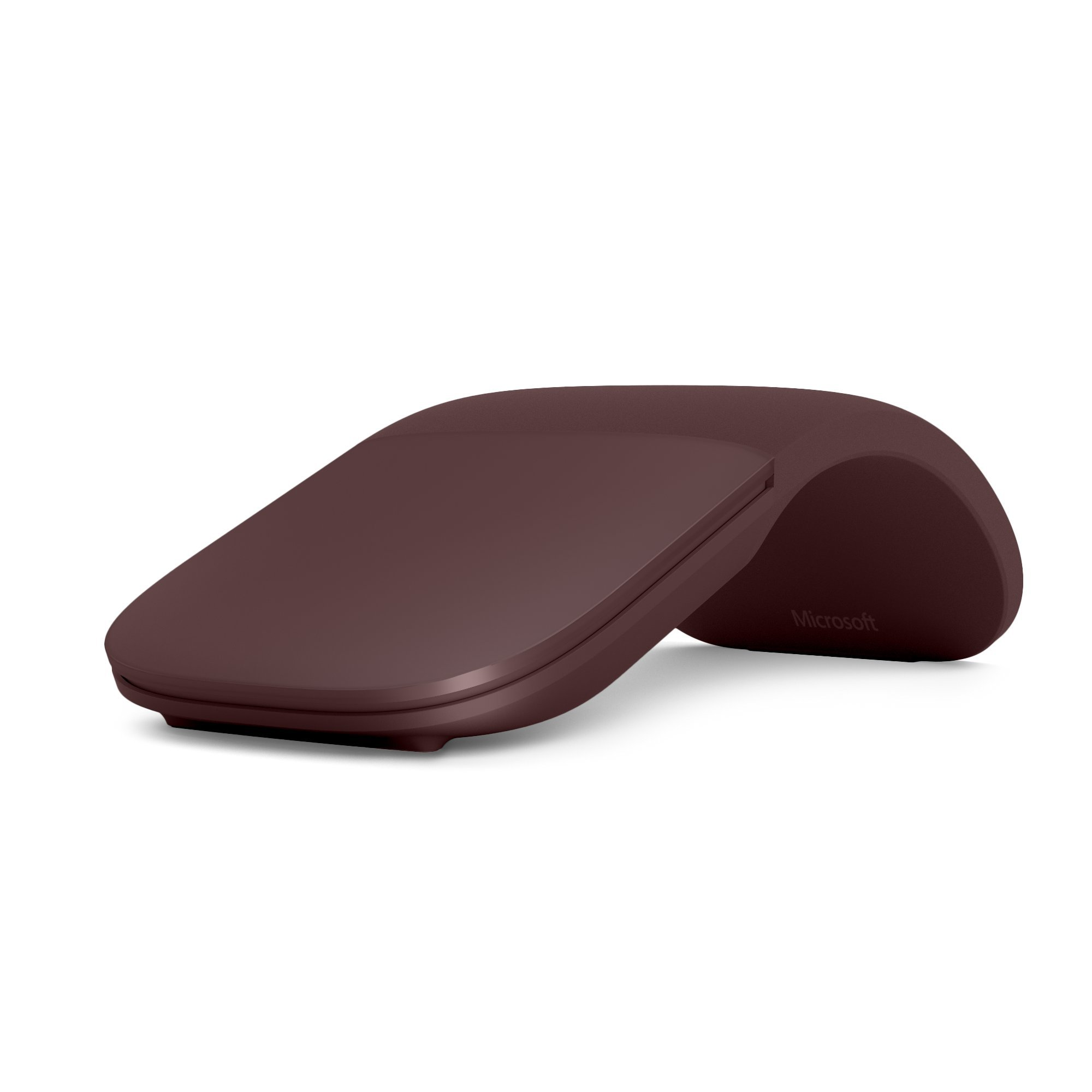 Microsoft Surface Arc Mouse Bluetooth Ambidextrous Red - mice (Bluetooth, Travel, Pressed buttons,