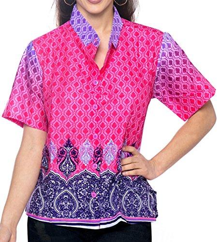 LA LEELA Leichter Frauen-aztekische aus 100% Baumwolle 3 in 1 Aloha Karibik Lounge Taste gedrückt...
