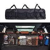Accesorios Best Deals - Creation® Maletero del coche organizador del almacenaje del asiento trasero, Asiento de atrás multipropósito de carga Accesorios Organizador (Negro)