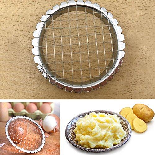 Edelstahl Eierschneider Pilze Kartoffel Cutter Chopper Küche Kochen Werkzeug
