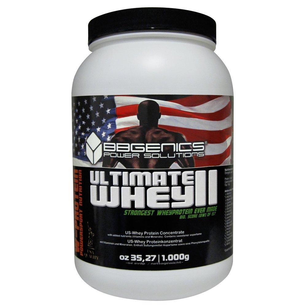 USA Proteina di BBGENICS, Siero di Latte supremo - 100% proteina di siero puro, 1000g cioccolato