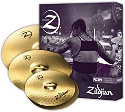 ZILDJIAN PLZ4PK Planet Z (4er Pack) bestehend aus Hats, Crash, Ride