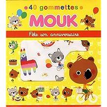 Mouk Fête son anniversaire - 40 gommettes