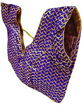 India Mujeres Hermosas Cosecha Superior Readymade Sari Tradicional Choli Acolchado Saree Blusas