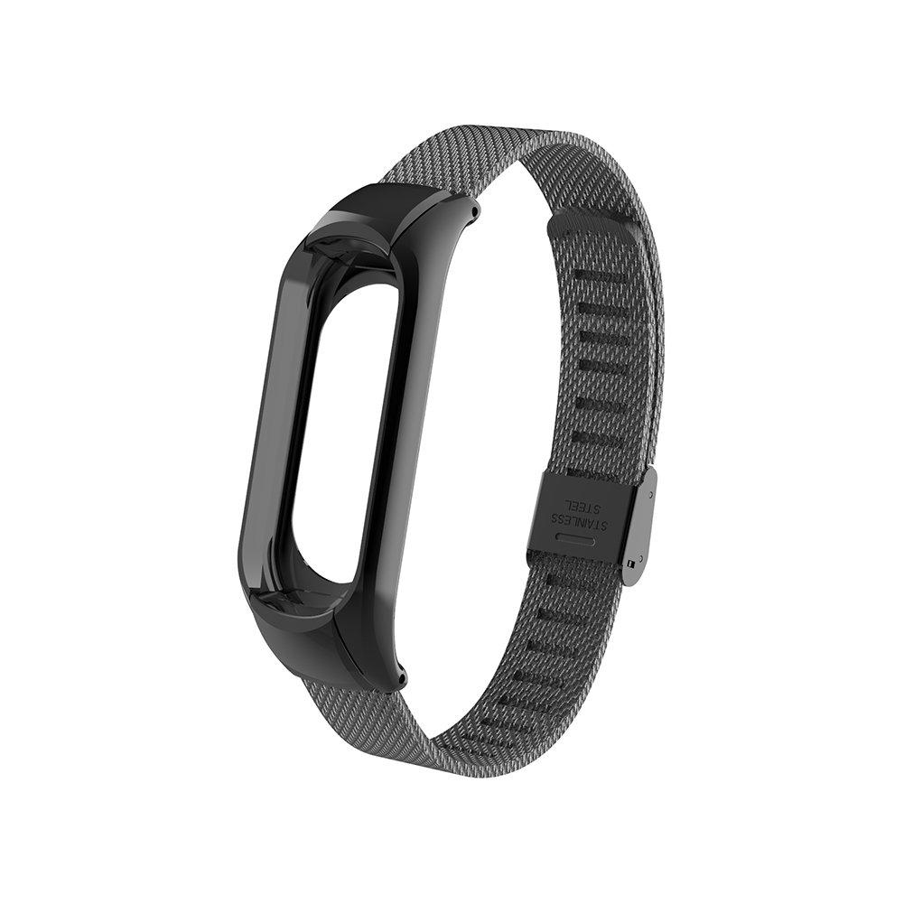 WANFEI Mi Band 3 Strap Replacement, Durable Strap Wristband WatchBand Accessories, Xiaomi band 3 Correa