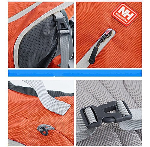 niceEshop(TM) Naturehike Outdoor Sport Tasche Fahrrad Camping Kletterrucksack Orange Kletterrucksack