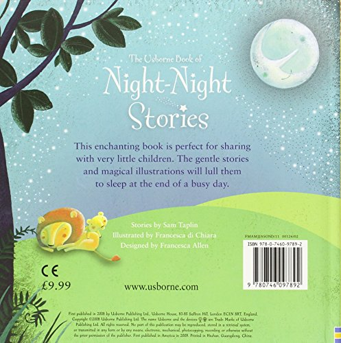 Night Night Stories (Usborne Anthologies and Treasuries)