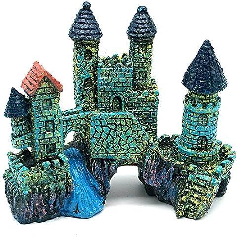 Sikete Castello di progettazione Resina acquario artigianato