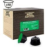 Note D'Espresso - Capsule - Compatibili con macchine Nescafé* e Dolce Gusto* - Infuso alla Menta - 48 caps