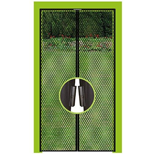 Pro Home Insektenschutz Magnetvorhang Fliegengitter für Türen, in Länge und Breite Individuell Kürzbar. (130x220cm)