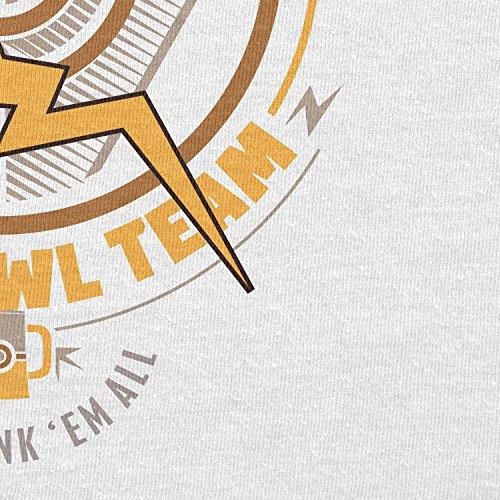 NERDO - Bar Crawl Team Instinct - Damen T-Shirt Weiß