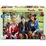 Schmidt-Spiele 56234 - Bibi & Tina: Bibi, Tina and Adea - puzzle para niños 150 piezas