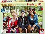 Schmidt Spiele Puzzle 56234, beige, Film 4, Bibi, Tina und Adea, 150 Teile