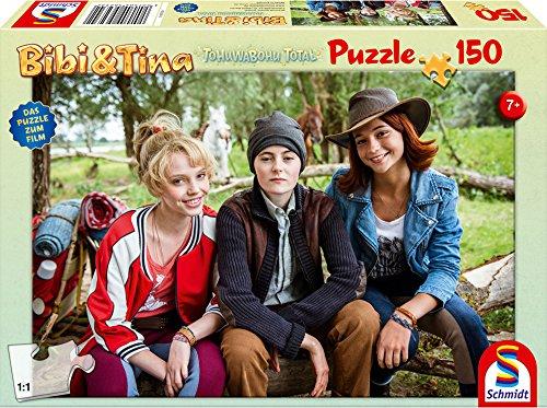 Preisvergleich Produktbild Schmidt Spiele Puzzle 56234 - Bibi und Tina zum Film 4, 150 Teile