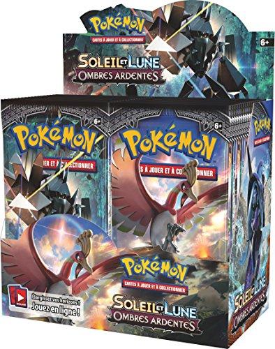 Asmodee - POSL302DISCO - 36 Boosters Pokémon Soleil et Lune Ombres Ardentes (Version Française)