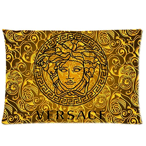 Custom Versace Decorative Cotton Zippered Pillow case/Kissenbezüge 20x30 (Twin sides)