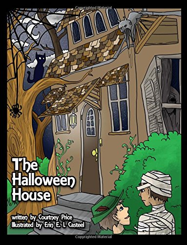 The Halloween House: An Alphabet Coloring Adventure