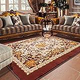 Europäischen Minimalistischen Modernen Schlafzimmer Voller Teppich Wohnzimmer Couchtisch Sofa Großen Teppich Nachttischdecke Non-Slip Mat,C,B-200x240cm