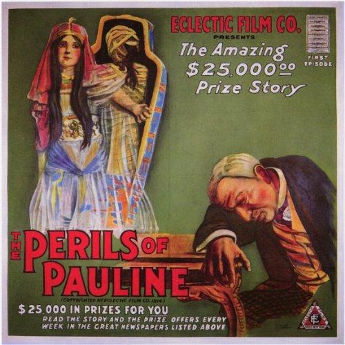 The Perils of Pauline Plakat Movie Poster (11 x 17 Inches - 28cm x 44cm) (1914) B