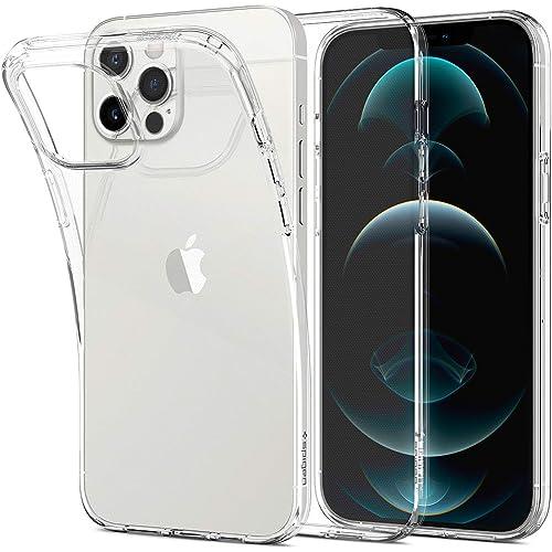 Spigen Cover Liquid Crystal Compatibile con iPhone 12 PRO Max - Trasparente