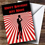 Best Basketball Cards - Red Stripy Basketball Personalised Birthday Card Review