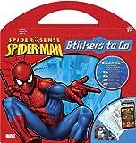 SPIDERMAN Stickers to go - 632 Sticker - 4 Activity Scenes, 6 Seiten zum Malen aus USA