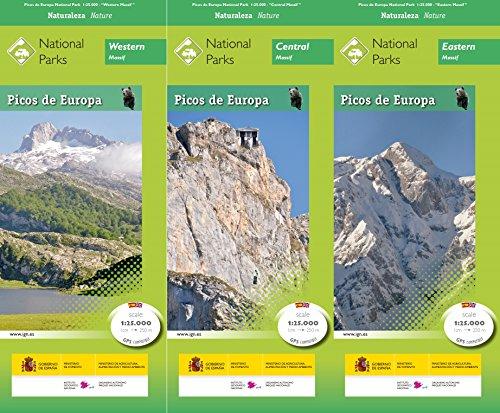 Parque Nacional de Picos de Europa (inglés) por CENTRO NACIONAL DE INFORMACIÓN GEOGRÁFICA
