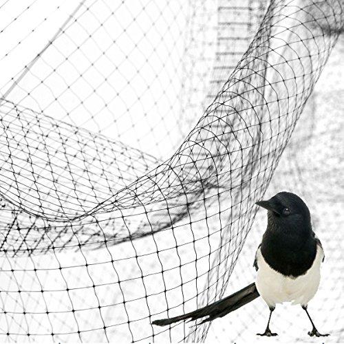 Sti rete antiuccelli anti uccelli volatili copertura orto ortaggi piante frutti 2x5 mt