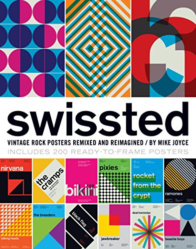 Swissted: Vintage Rock Posters Remixed and Reimagined