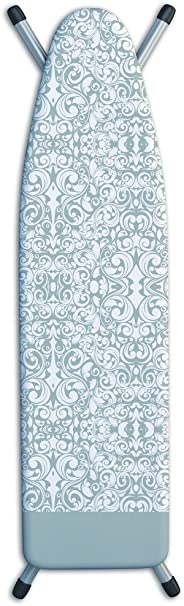Laundry Solutions by Westex Damask Deluxe Triple Layer Extra-Thick Ironing Board Cover and Pad, 15
