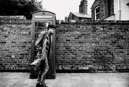 Ian Curtis Joy Division Reproduktion Foto Poster 40x30 cm (Kunstdrucke Joy Division)