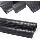 100 x 500cm, Tr/änenblech Gummimatte Gummil/äufer Schutzmatte Anti Rutsch Bodenbelag 100cm Breite 3mm Gummiboden
