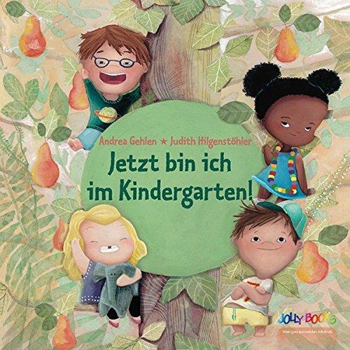 Personalisiertes Kinderbuch - Jetzt bin ich im Kindergarten! Ein tolles Geschenk zum Kindergartenbeginn