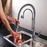 SBWYLT-Ascensore-tipo alta qualità doppia presa lavandino rubinetto rame rubinetto da (2 2.5 Ascensore)