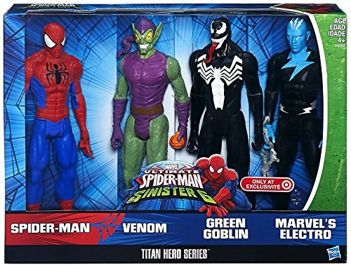 Ultimate Spider-Man vs Sinister 6 Titan Hero Series Exclusive 12 Action Figure by Spider-Man