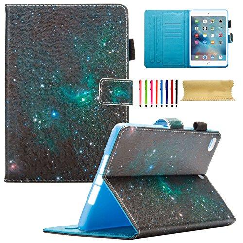 iPad Mini 4. Generation Fall, iPad Mini 4Retina Case, dteck [DREI Schicht] Cabrio [Heavy Duty] Robuste Hybrid Full Body Schutzhülle mit Standfuß für iPad Mini 4Modell A1538/A1550#05 Galaxy Sparks (Ipad Defender Case 4. Generation)
