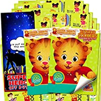 Daniel Tiger Stickers ~ Over 200 Reward Stickers (Set of 2 Sticker Pads)