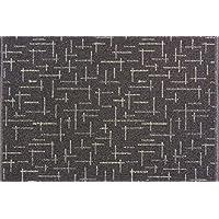 Dandy - 100 cm x 67 cm Macchina polipropilene lavabile tappeto urbana Grigio grafite - Trova i prezzi più bassi