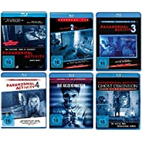 Paranormal Activity - 6 BLU-RAYs (Teil 1-4 + die Gezeichneten + Ghost Dimension) im Set - Deutsche Originalware