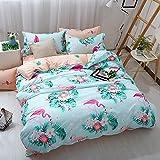 Best Mandala Crafts Friend Matchings - Duvet Cover Set Flamingo Polyester-Cotton Pillowcase Bedding Set Review