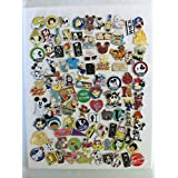 Disney Hidden Mickey Cast Lanyard Collector Badge Pin LOT of 25 Pins NO DOUBLES, Model: , Toys & Gaems