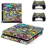Yosoo Adesivi Decorativi per Playstation 4 PS4 anche x Controller, Colore Colorato