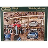 Falcon de Luxe - Workshop Dream Jigsaw Puzzle (1000 Pieces) by Jumbo Games