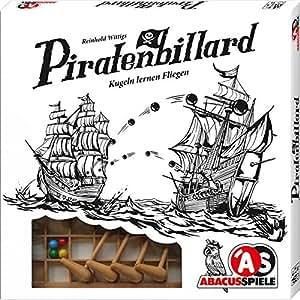 ABACUSSPIELE 01891 - Piratenbilliard, Geschicklichkeitsspiel