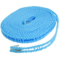 MAP DEAL House 5 Meters Windproof Anti-Slip Clothes Washing Line Drying Nylon Rope with Hooks