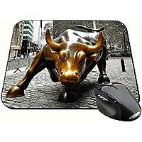Toro De Wall Street Charging Bull Nueva York New York City Ny Manhattan Alfombrilla Mousepad PC