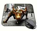 Toro De Wall Street Charging Bull Nueva York New York City Ny Manhattan Tapis De Souris Mousepad PC